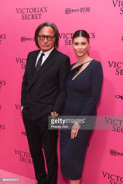 Mohamed Hadid and Shiva Safai attend 2017 Victoria's Secret Fashion Show In Shanghai Pink Carpet Arrivals at MercedesBenz Arena on November 20 2017...