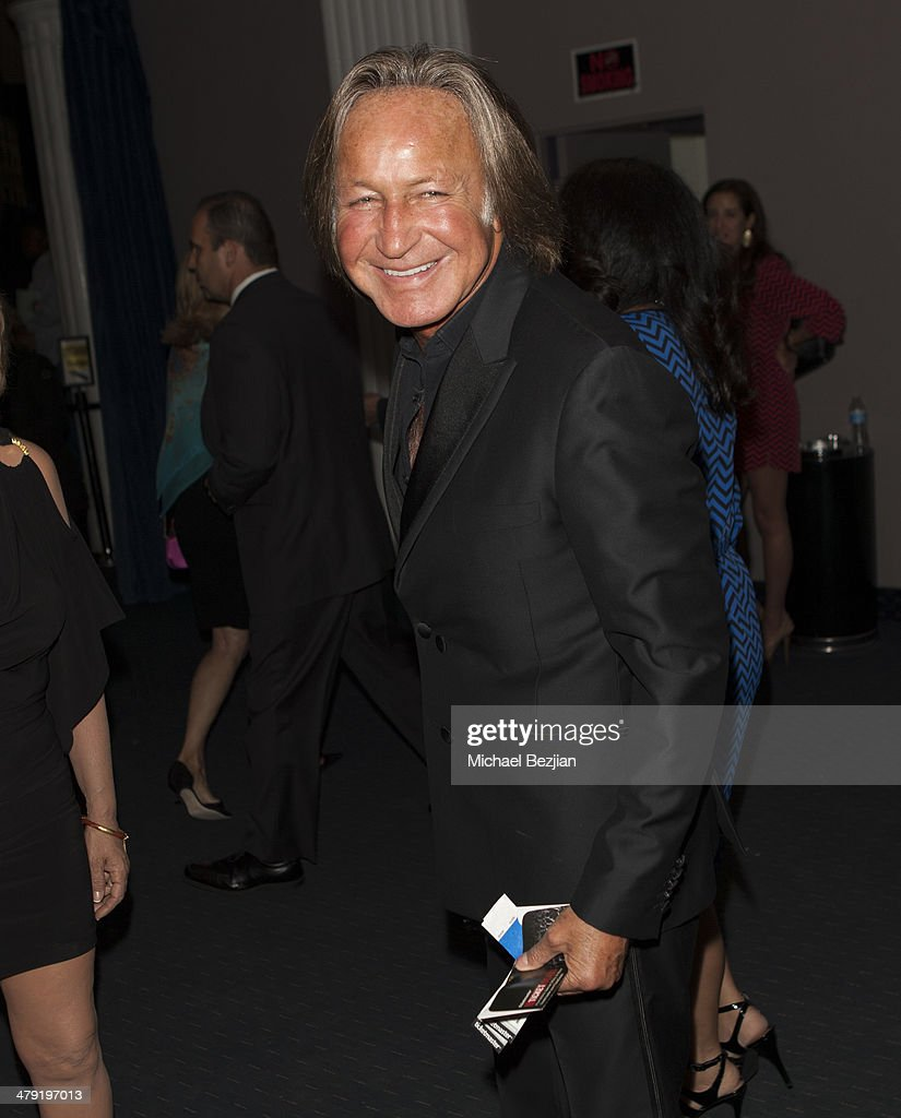 Mohamed Hadid attends Queen Of The Universe International Beauty Pageant at Saban Theatre on March 16, 2014 in Beverly Hills, California.