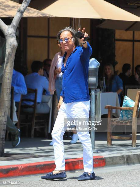 Mohamed Hadid is seen on April 24 2017 in Los Angeles California