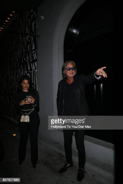 Mohamed Hadid is seen on August 22 2017 in Los Angeles CA
