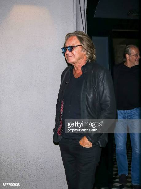 Mohamed Hadid is seen on August 22 2017 in Los Angeles California