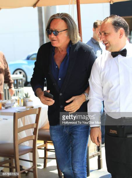 Mohamed Hadid is seen on March 24 2017 in Los Angeles California