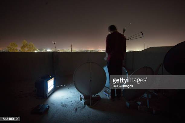 Mohamed is trying to bring his satellites signal back as he does not use the digital dish satellite anymore due to lack of electricity Electricity is...