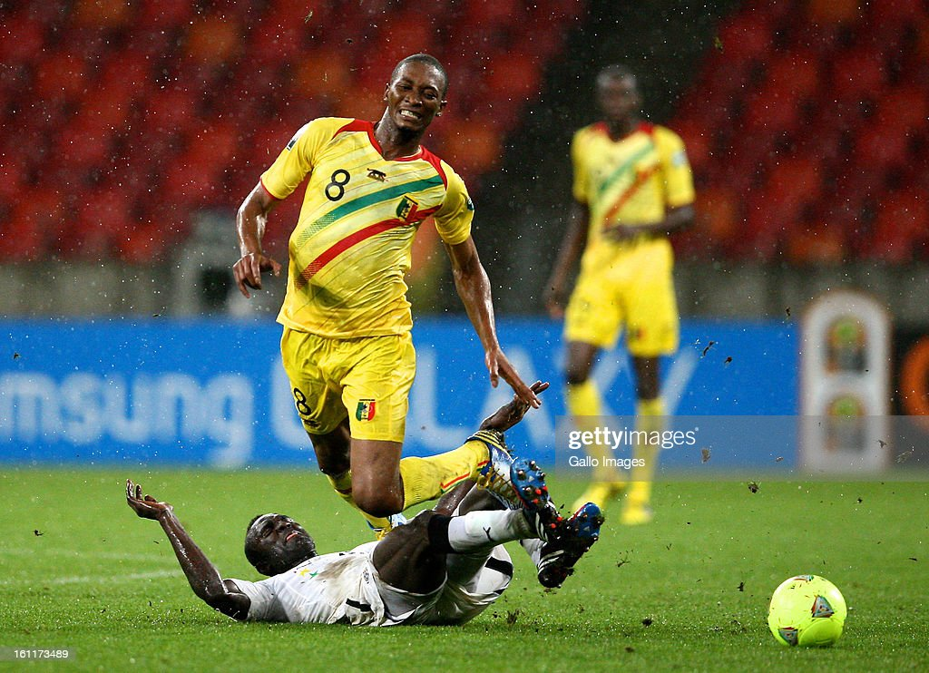 AFRICA - FEBRUARY 09, Mohamed Kalilou Traore of Mali and Mohammed Awal of Ghana during the 2013 Orange African Cup of Nations 3rd and 4th Play-Off match between Mali and Ghana from Nelson Mandela Bay Stadium on February 09, 2013 in Port Elizabeth, South Africa.