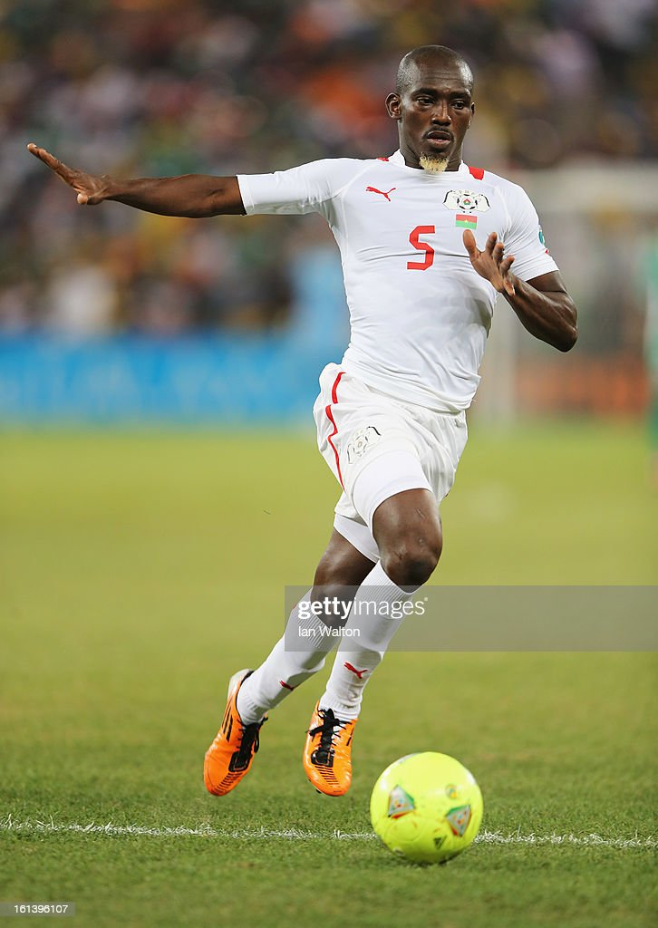 Mohamed Koffi of Burkina Faso during the 2013 Africa Cup of Nations Final match between Nigeria and Burkina Faso at FNB Stadium on February 10, 2013 in Johannesburg, South Africa.