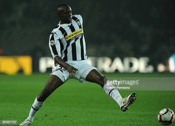 Mohamed Lamine Sissoko of Juventus FC in action during the Serie A match between Juventus FC and UC Sampdoria at Olimpico Stadium on October 28 2009...