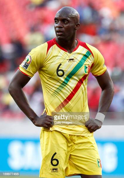 Mohamed Lamine Sissoko of Mali during the 2013 African Cup of Nations match between Mali and Ghana at Nelson Mandela Bay Stadium on January 24 2013...