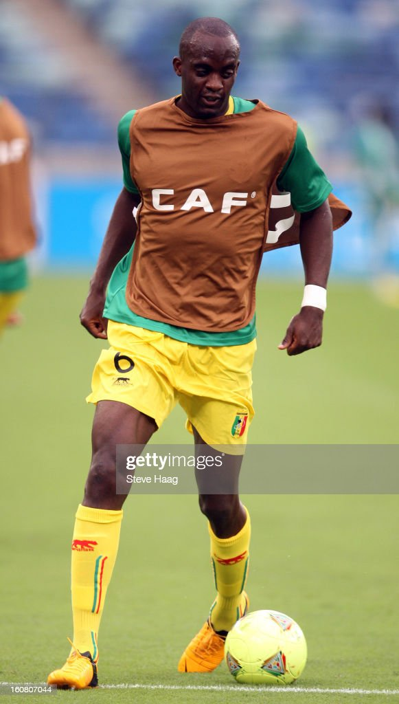 Mohamed Lamine Sissoko of Mali warms-up during the 2013 African Cup of Nations Semi-Final match between Mali and Nigeria at Moses Mahbida Stadium on February 06, 2013 in Durban, South Africa.