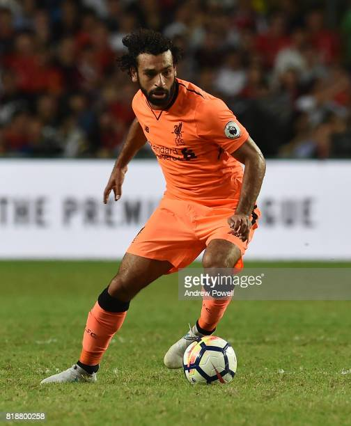Mohamed Salah of Liverpool during the Premier League Asia Trophy match between Liverpool FC and Crystal Palace on July 19 2017 in Hong Kong Stadium...