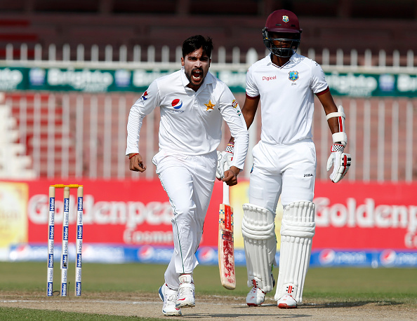 Pakistan v West Indies - 3rd Test: Day Four : News Photo