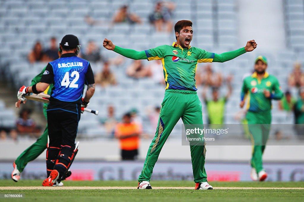 New Zealand v Pakistan - 3rd ODI