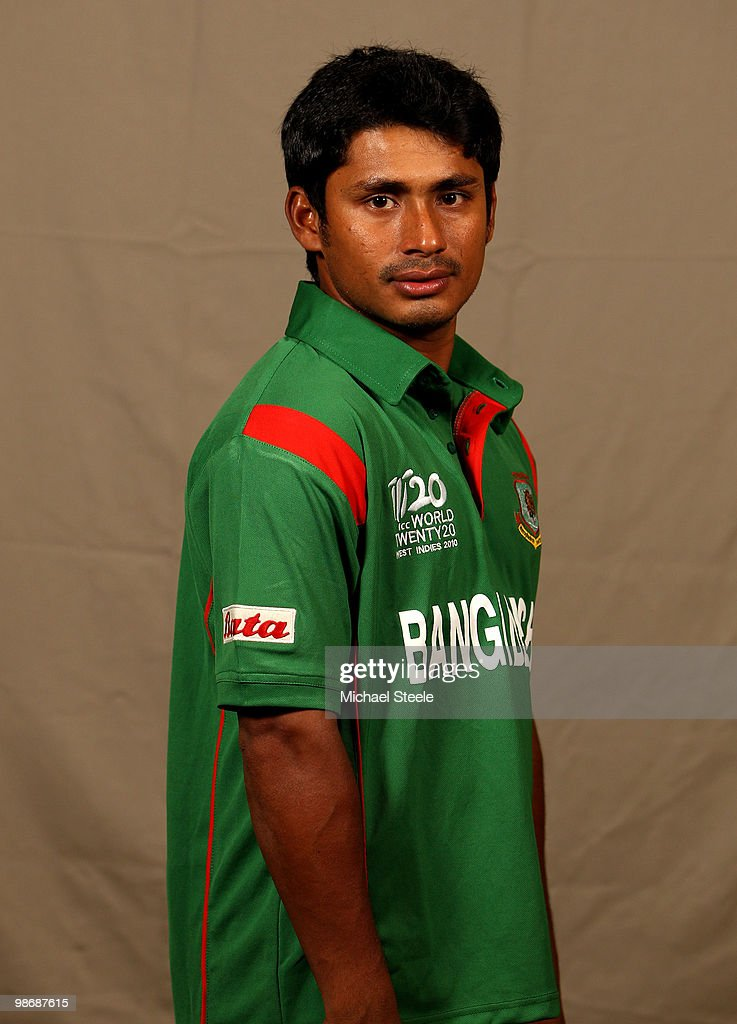 Mohammad Ashraful of Bangladesh T20 squad on April 26 2010 in Bridgetown Barbados