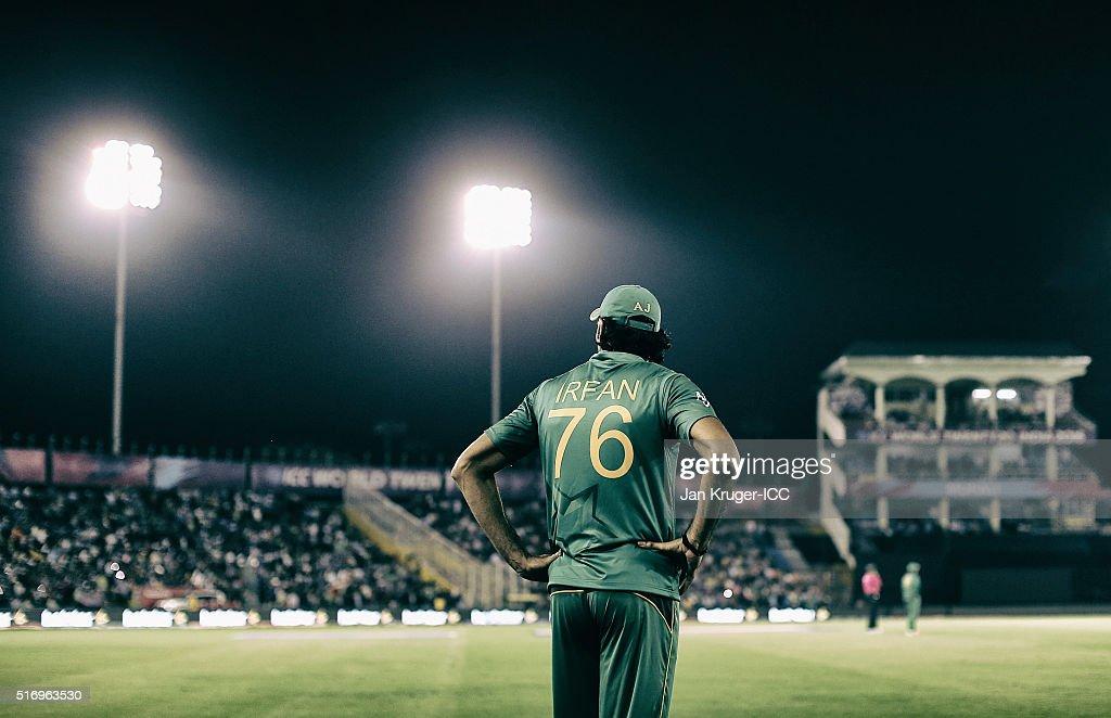 ICC World Twenty20 India 2016: New Zealand v Pakistan : News Photo