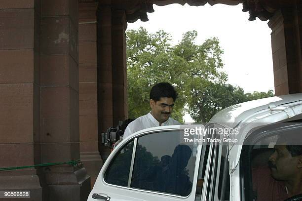 Mohammad Shahabuddin Rashtriya Janata Dal MP from Siwan at Parliament House in New Delhi India