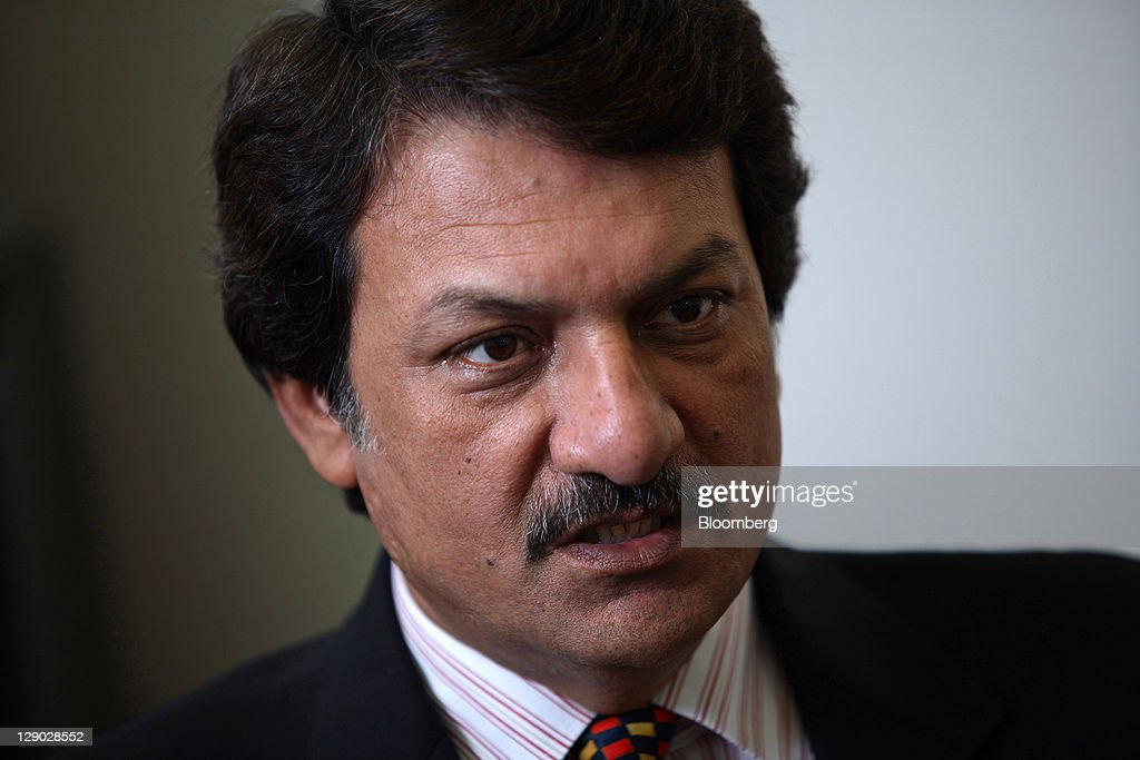 Mohammad Shahid Hussain, chief executive officer of General Tyre & Rubber Co. of Pakistan Ltd., speaks during an interview in Karachi, Pakistan, on Monday, ... - mohammad-shahid-hussain-chief-executive-officer-of-general-tyre-co-picture-id129028552