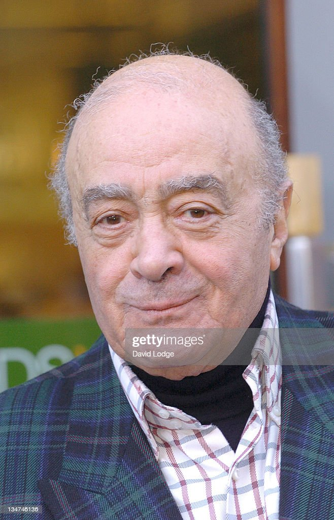 Mohamed Al Fayed Opens Harrods 102 - Photocall