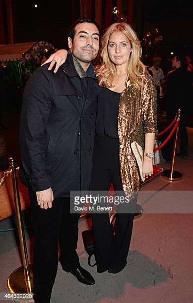 Mohammed Al Turki and Marissa Montgomery attend the The World's First Fabulous Fund Fair hosted by Natalia Vodianova and Karlie Kloss in support of...