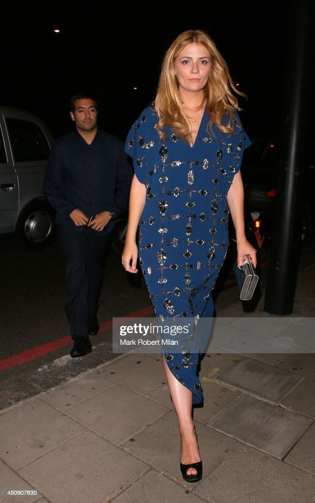 Mohammed Al Turki and Mischa Barton at China Tang restaurant on June 19, 2014 in London, England.