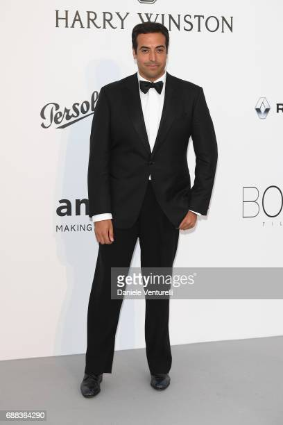 Mohammed Al Turki arrives at the amfAR Gala Cannes 2017 at Hotel du CapEdenRoc on May 25 2017 in Cap d'Antibes France