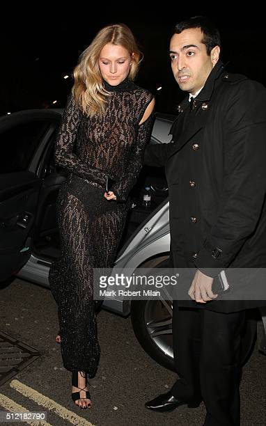 Mohammed Al Turki attending the The Brit Awards Warner Music Group After Party on February 24 2016 in London England