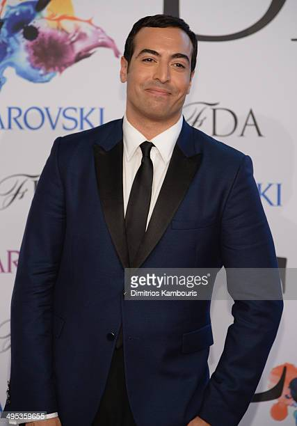Mohammed Al Turki attends the 2014 CFDA fashion awards at Alice Tully Hall Lincoln Center on June 2 2014 in New York City