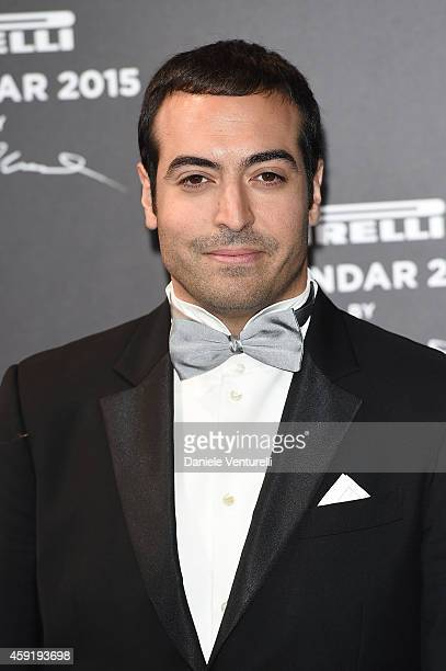 Mohammed Al Turki attends the 2015 Pirelli Calendar Red Carpet on November 18 2014 in Milan Italy