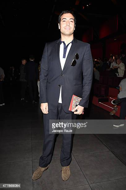 Mohammed Al Turki attends the Dolce Gabbana show during the Milan Men's Fashion Week Spring/Summer 2016 on June 20 2015 in Milan Italy