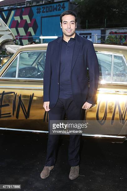 Mohammed Al Turki attends the Philipp Plein show during the Milan Men's Fashion Week Spring/Summer 2016 on June 20 2015 in Milan Italy