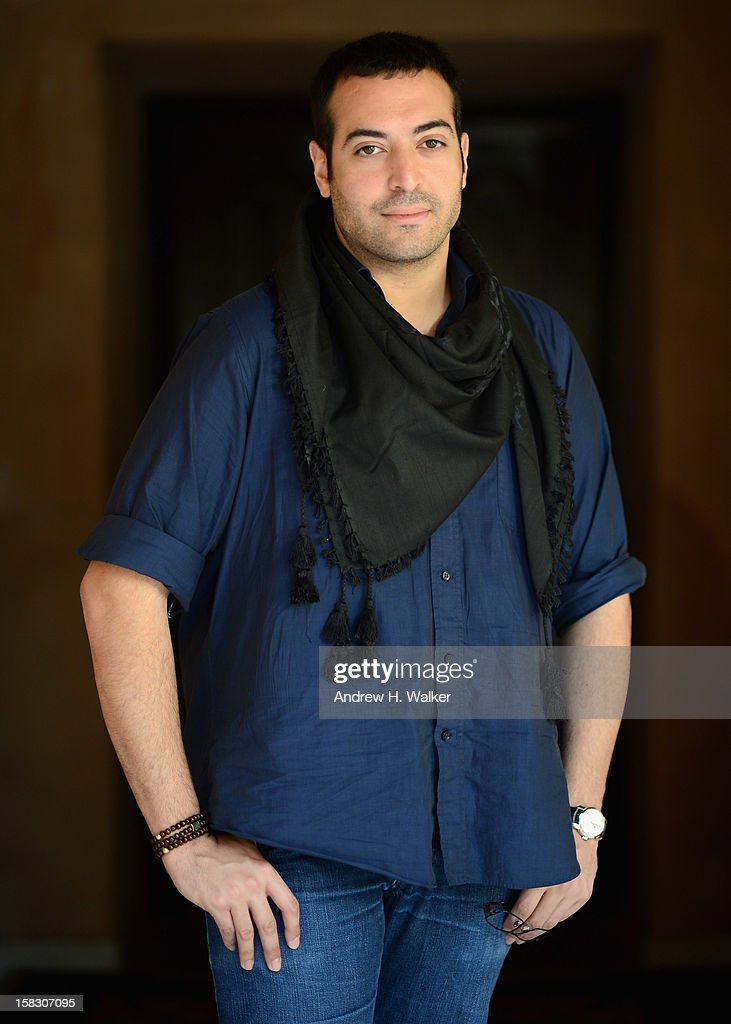 Mohammed Al Turki during a portrait session on day five of the 9th Annual Dubai International Film Festival held at the Madinat Jumeriah Complex on December 13, 2012 in Dubai, United Arab Emirates.