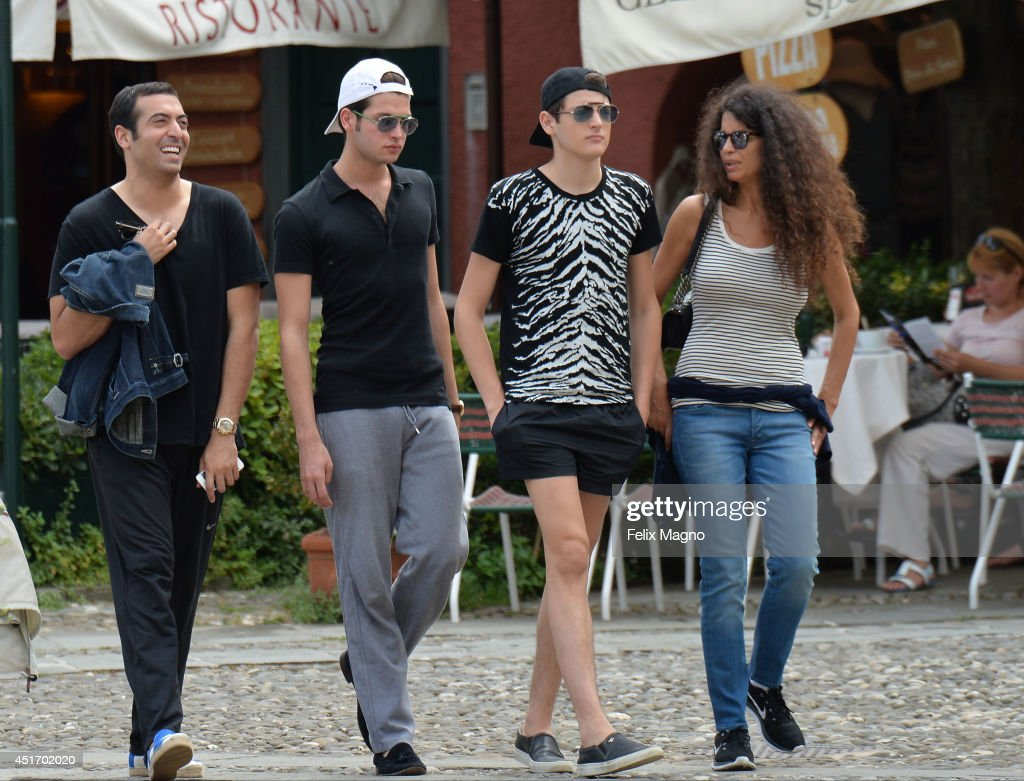Celebrity Sightings In Portofino