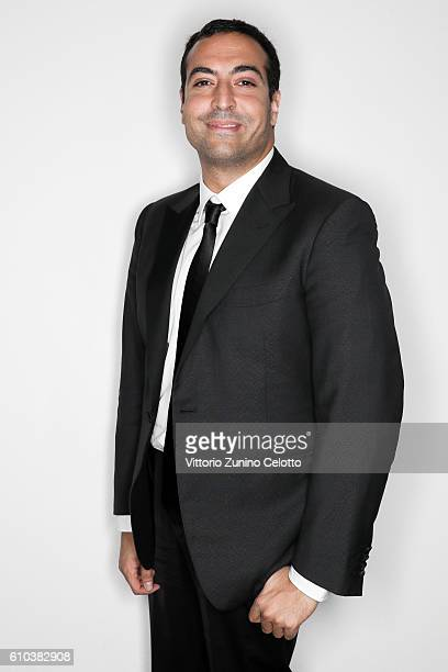 Mohammed Al Turki poses for a portrait during amfAR Milano 2016 at La Permanente on September 24 2016 in Milan Italy