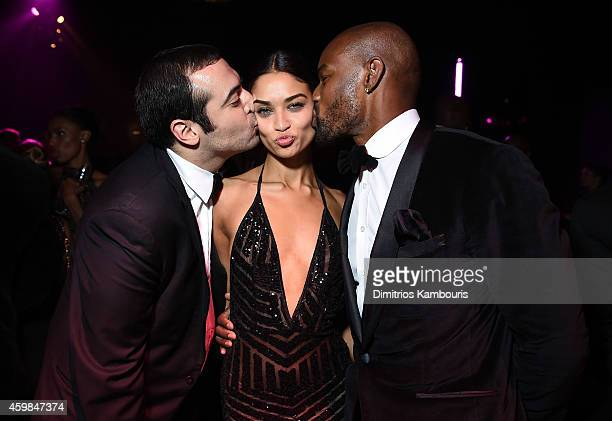 Mohammed Al Turki Victoria's Secret model Shanina Shaik and Tyson Beckford attend the 2014 Victoria's Secret Fashion Show After Party on December 2...