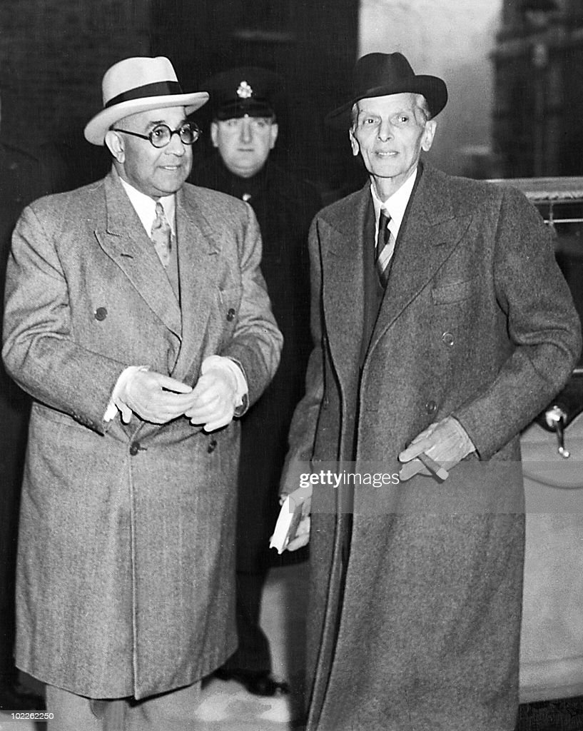 liaquat ali khan stock photos and pictures getty images files mohammed ali jinnah r shown in