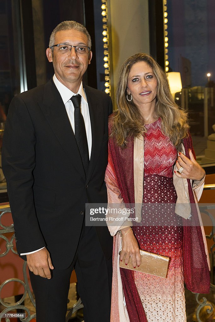 Mohammed Ben Salah (L) and his wife Hannah attend the Grand Bal Care In Deauville on August 24, 2013 in Deauville, France. Care France, the French branch of the humanitarian aid organization Care, was celebrating its 30th anniversary on Saturday.