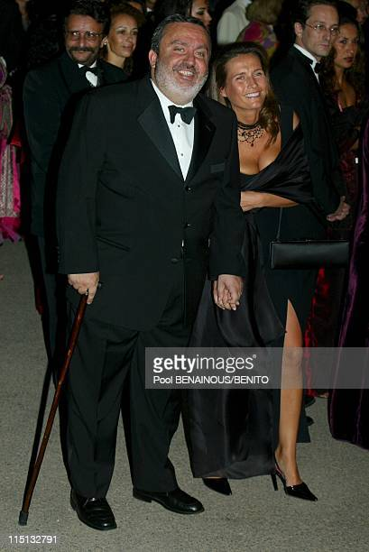 Mohammed VI and his wife Salma at the Marrakech film festival in Morocco on September 19 2002 Dominique Farrugia