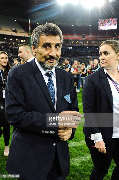 Mohed ALTRAD of Montpellier during the Challenge Cup final match between Harlequins and Montpellier at Stade des Lumieres on May 13 2016 in...