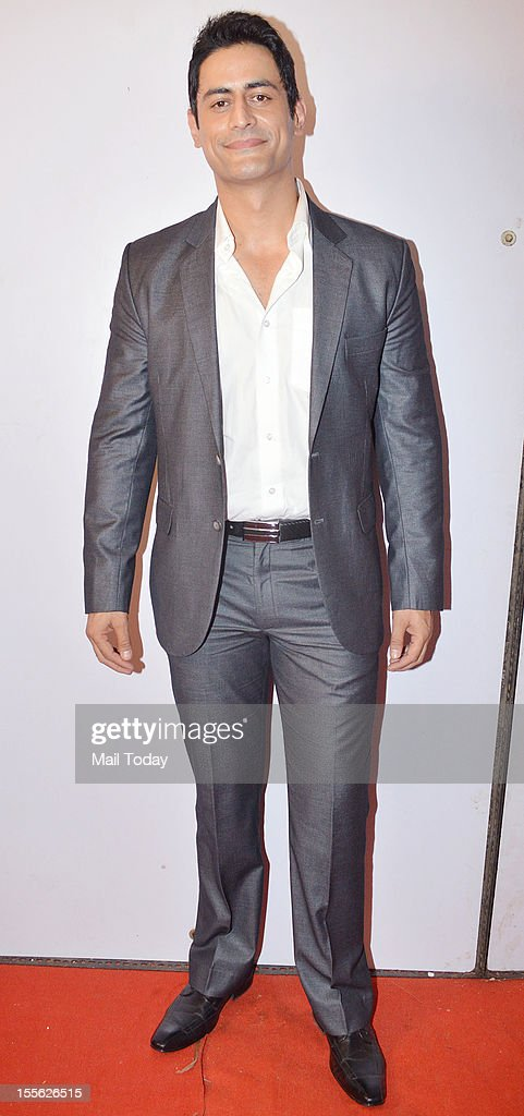 Mohit Raina during Indian Television Academy Awards 2012 (ITA Awards), held in Mumbai on November 4, 2012.