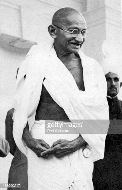 Mohondas Karamchand Gandhi known as Mahatma Indian Nationalist leader