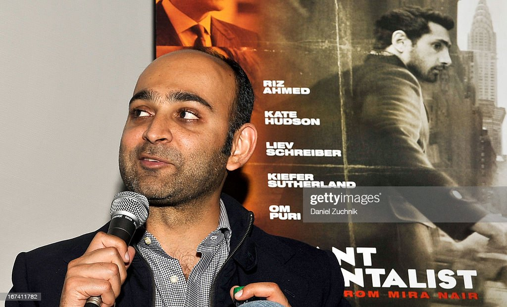 Mohsin Hamid attends the Q&A following 'The Reluctant Fundamentalist' screening during the 2013 New York Indian Film Festival at Big Cinemas Manhattan on April 24, 2013 in New York City.