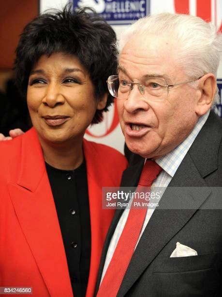 Moira Stuart and Stanley Baxter arrive for the 2008 Oldie of the Year Awards in association with Swan Hellenic held at Simpsons in theStrand central...
