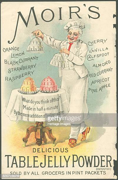 Moir's Table Jelly Powder 1890s