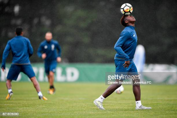 Moise Bioty Kean during the afternoon training session on July 24 2017 in Boston City