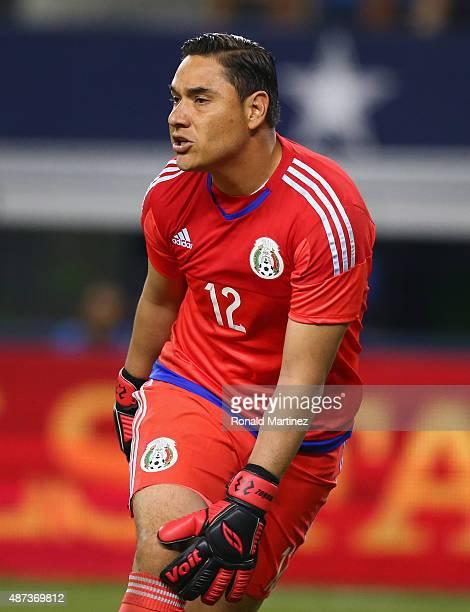 Moises Munoz of Mexico during a international friendly against Argentina at ATT Stadium on September 8 2015 in Arlington Texas