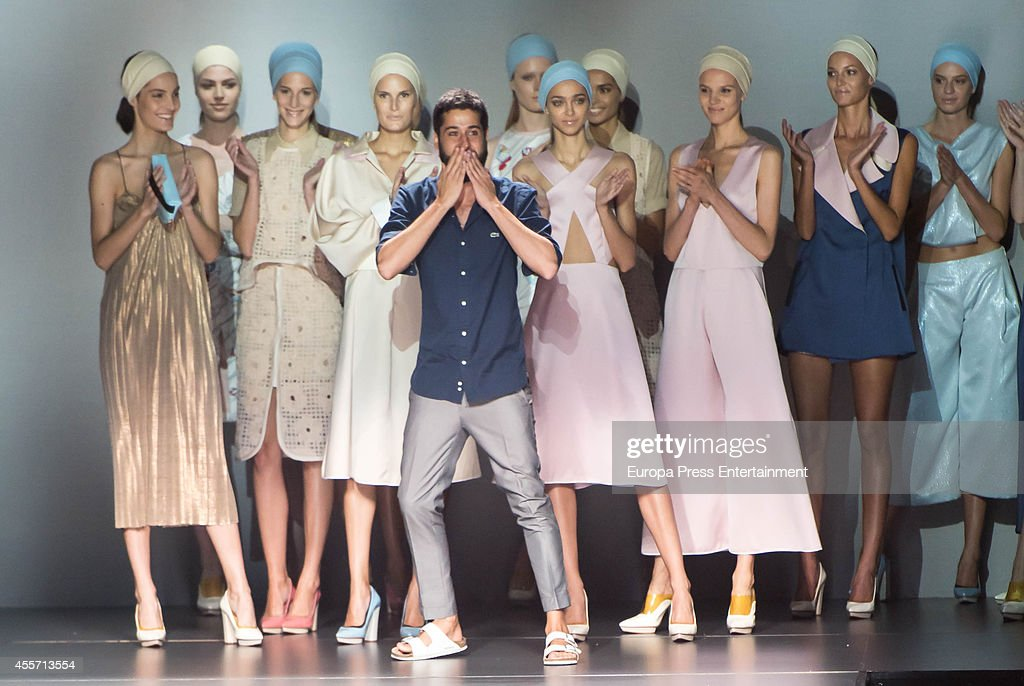 Moises Nieto walks on the runway during Mercedes Benz Fashion Week Madrid Spring/Summer 2015 at Ifema on September 13 2014 in Madrid Spain