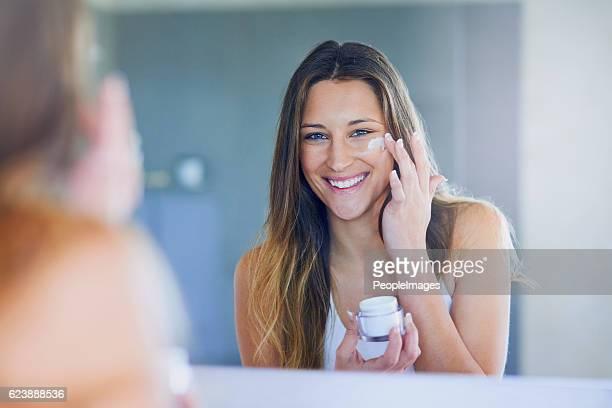 I moisturize daily for soft, smooth skin