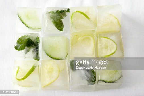 Mojito ice cubes