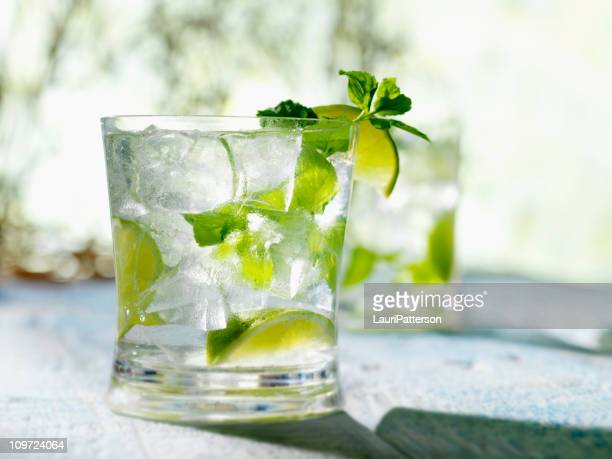 Mojito with White Rum Mint & Lime