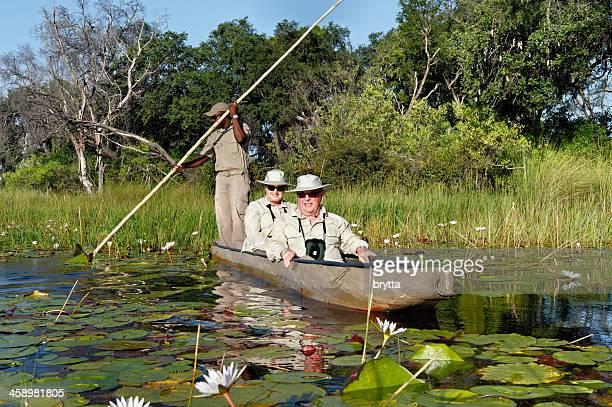 Mokoro voyage à Okavanga Delta