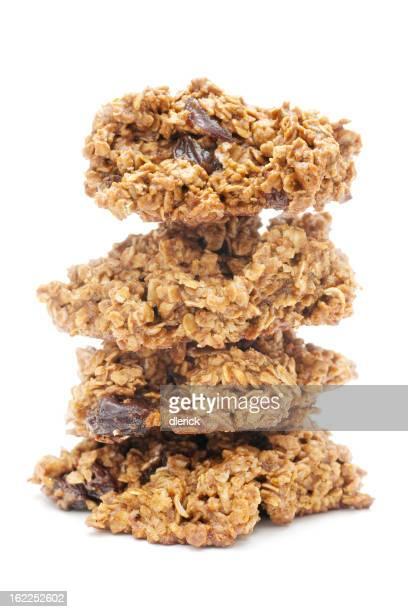 廃糖蜜レーズンオートミールドロップクッキー