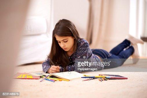 Molding her imagination